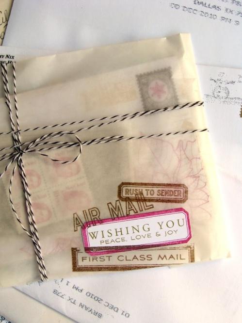 handmade letter