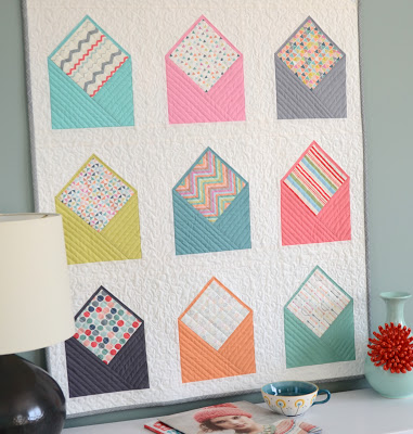 Envelope quilt Hyacinth quilts